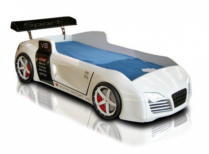 kinderzimmer autobett formular v8 m bel kinder bett auto autobetten ebay. Black Bedroom Furniture Sets. Home Design Ideas