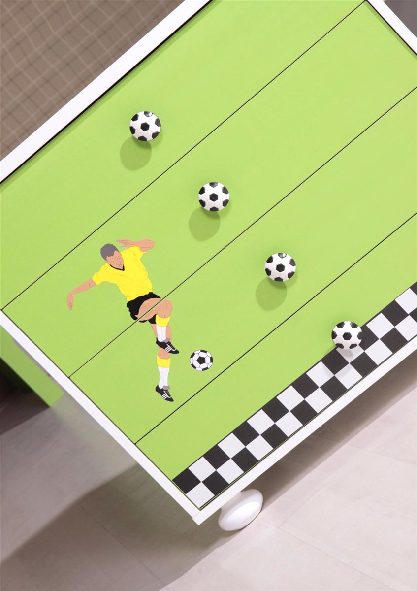 fussball kinderzimmer hausgestaltung ideen. Black Bedroom Furniture Sets. Home Design Ideas