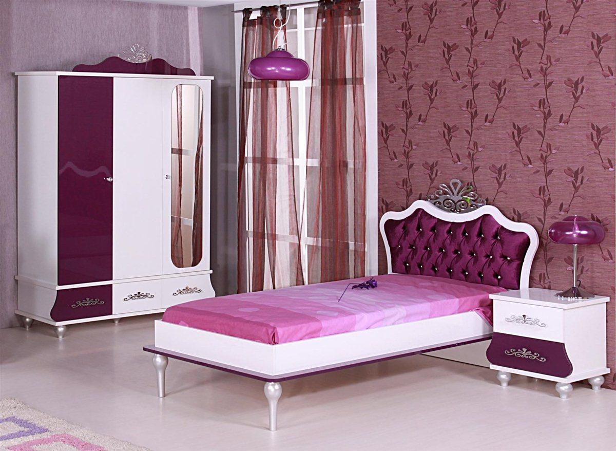kinderbett prinzessin kinder bett m dchen lila. Black Bedroom Furniture Sets. Home Design Ideas