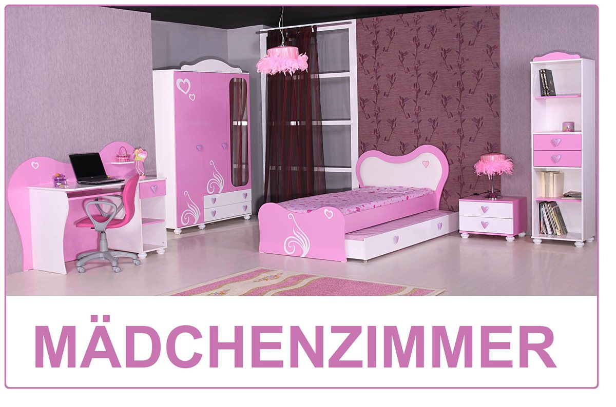 daisy kinderzimmer m dchen kinder bett rosa pink ebay. Black Bedroom Furniture Sets. Home Design Ideas