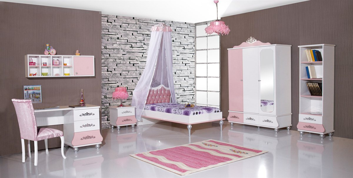 anastasia himmelbett kinderbett himmel m dchen bett. Black Bedroom Furniture Sets. Home Design Ideas