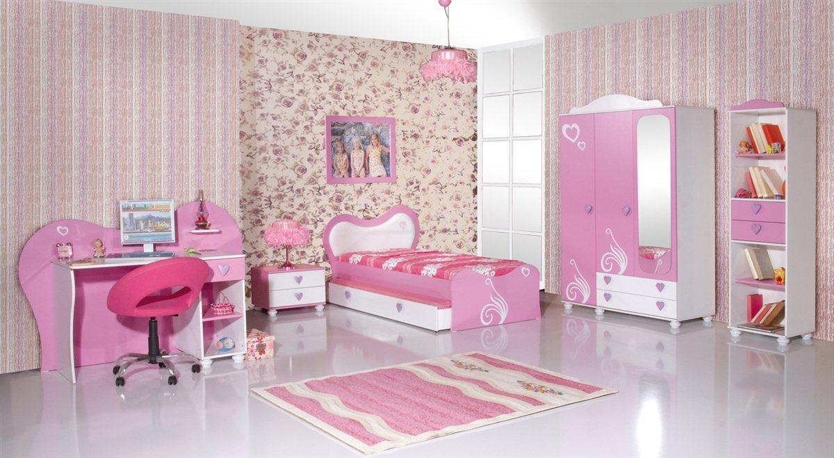 Daisy kinderzimmer m dchen kinder bett rosa pink ebay for Kinderzimmer bett