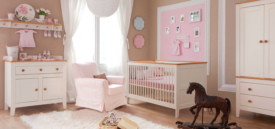 5er baby kinderzimmer set m bel baby m dchen bett. Black Bedroom Furniture Sets. Home Design Ideas