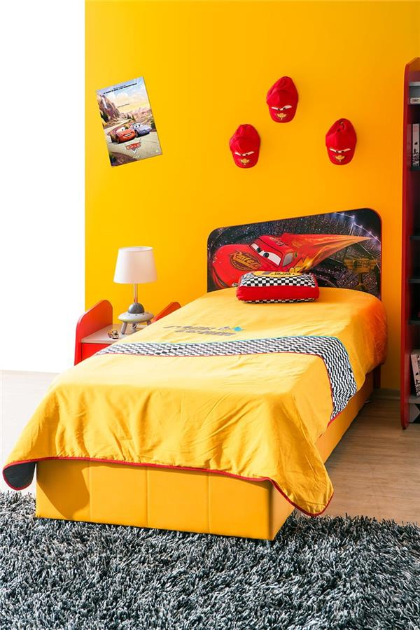 autobett cars und cars m bel bett kinderbett ebay. Black Bedroom Furniture Sets. Home Design Ideas