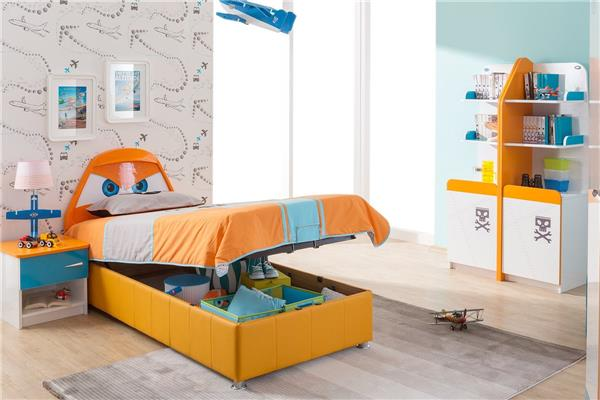 planes kinderzimmer flugzeug m bel kinderbett schrank. Black Bedroom Furniture Sets. Home Design Ideas