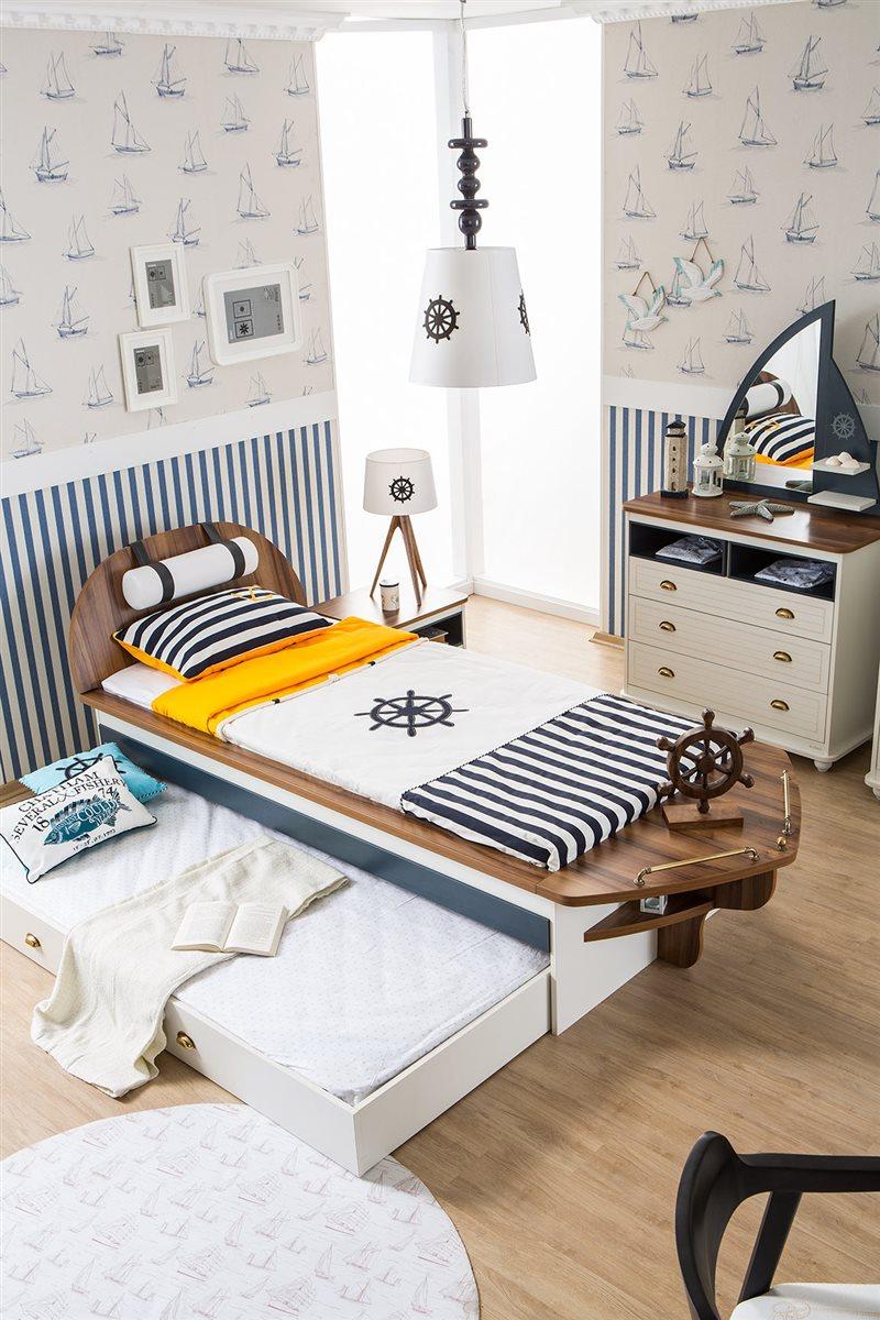 Kinderbett 120x200  Admiral Kinderbett weiß Piratenbett Kinder Bett Pirat 120x200 | eBay