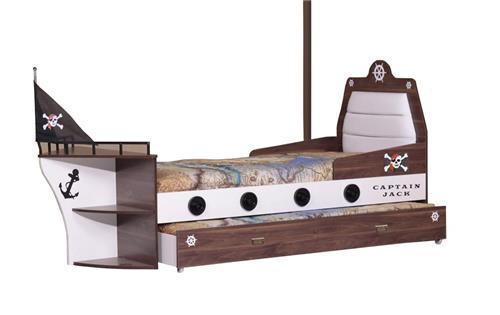 piratenbett piratenzimmer kinderbett pirat bett junge kind ebay. Black Bedroom Furniture Sets. Home Design Ideas