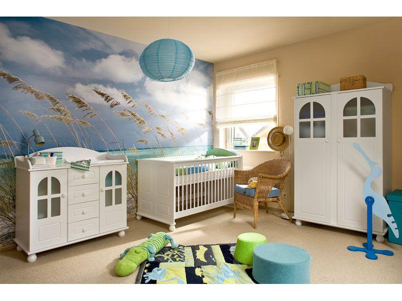 landhaus babyzimmer möbel baby kleinkind bett schrank wickeltisch