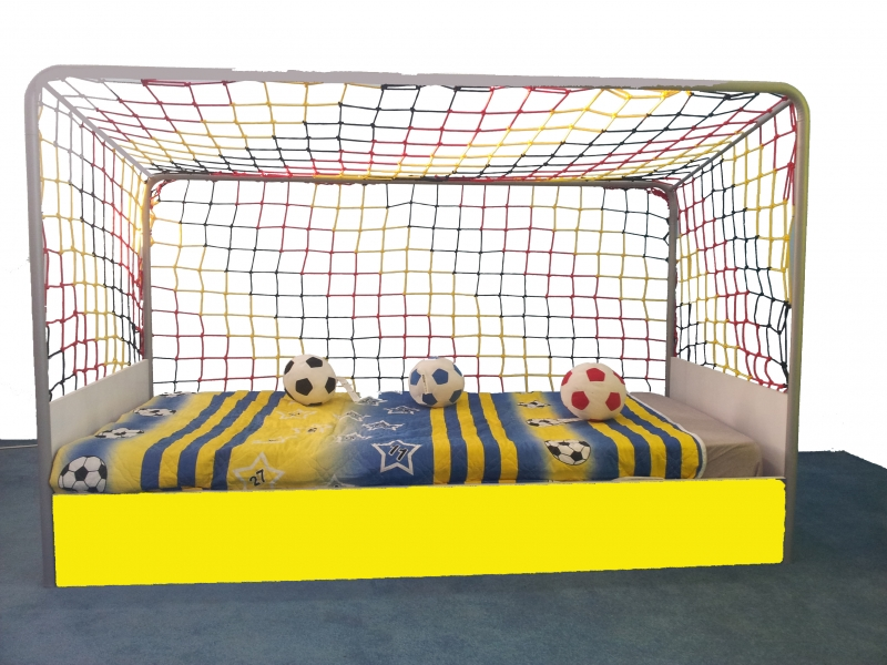 Goal kinderzimmer m bel kinderbett kleiderschrank fu ball for Fussball kinderzimmer