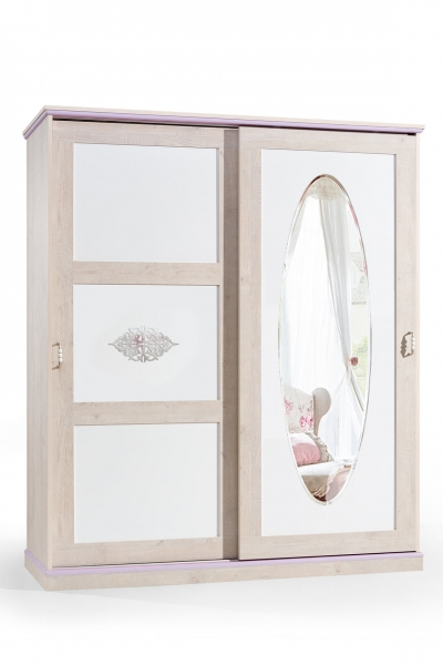ballerina 2er kleiderschrank m dchen kinderzimmer m bel ebay. Black Bedroom Furniture Sets. Home Design Ideas
