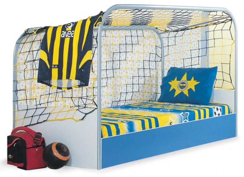 Cars Bett 90x200: Goal Kinderzimmer Möbel Kinderbett Kleiderschrank Fußball