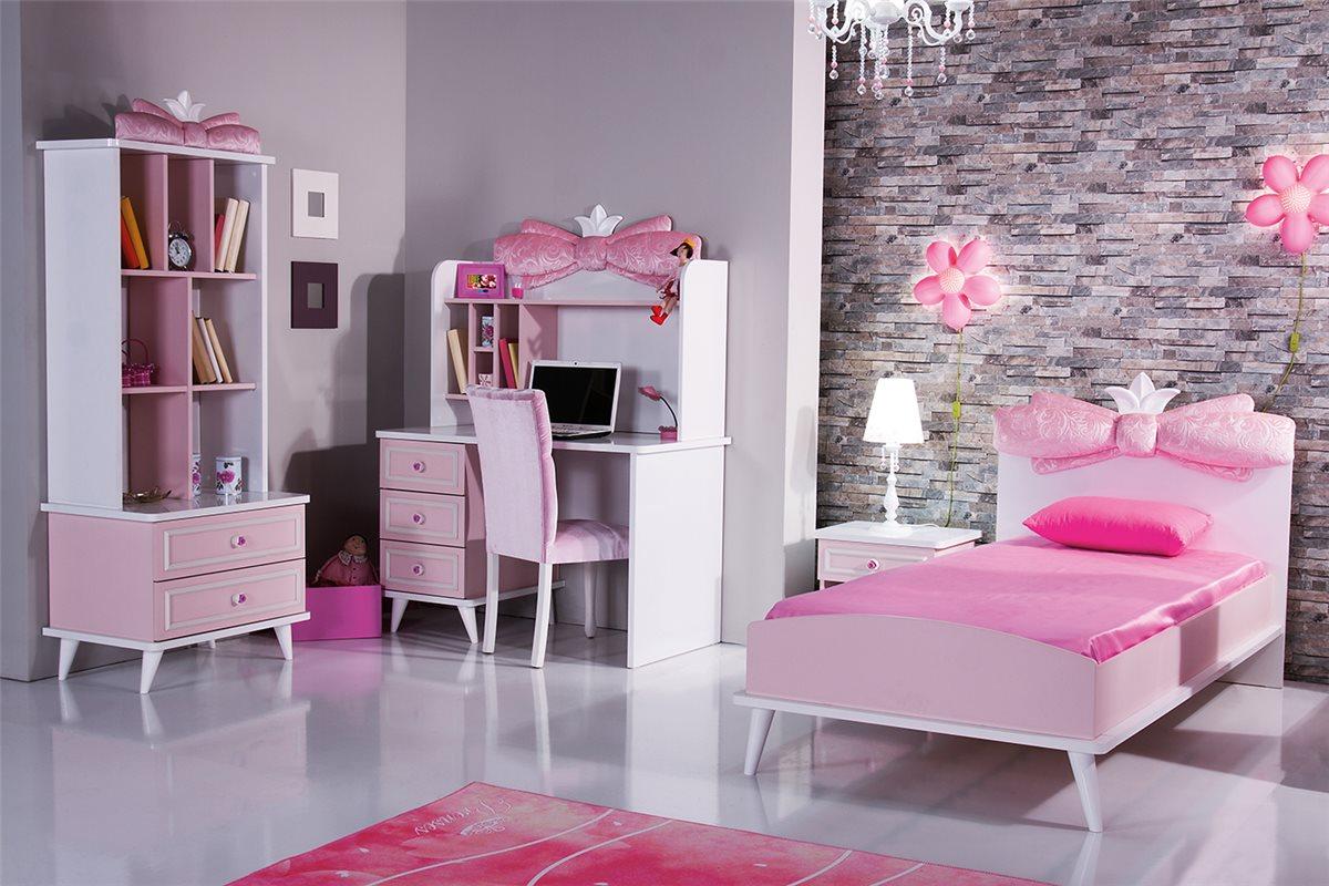 kinderzimmer kinder bett m dchen selfi schrank kommode nachttisch ebay. Black Bedroom Furniture Sets. Home Design Ideas