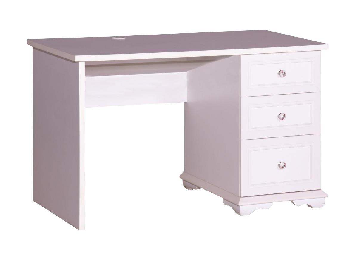 cindy schreibtisch ohne wandregal kinder tisch f r m dchen wei ebay. Black Bedroom Furniture Sets. Home Design Ideas