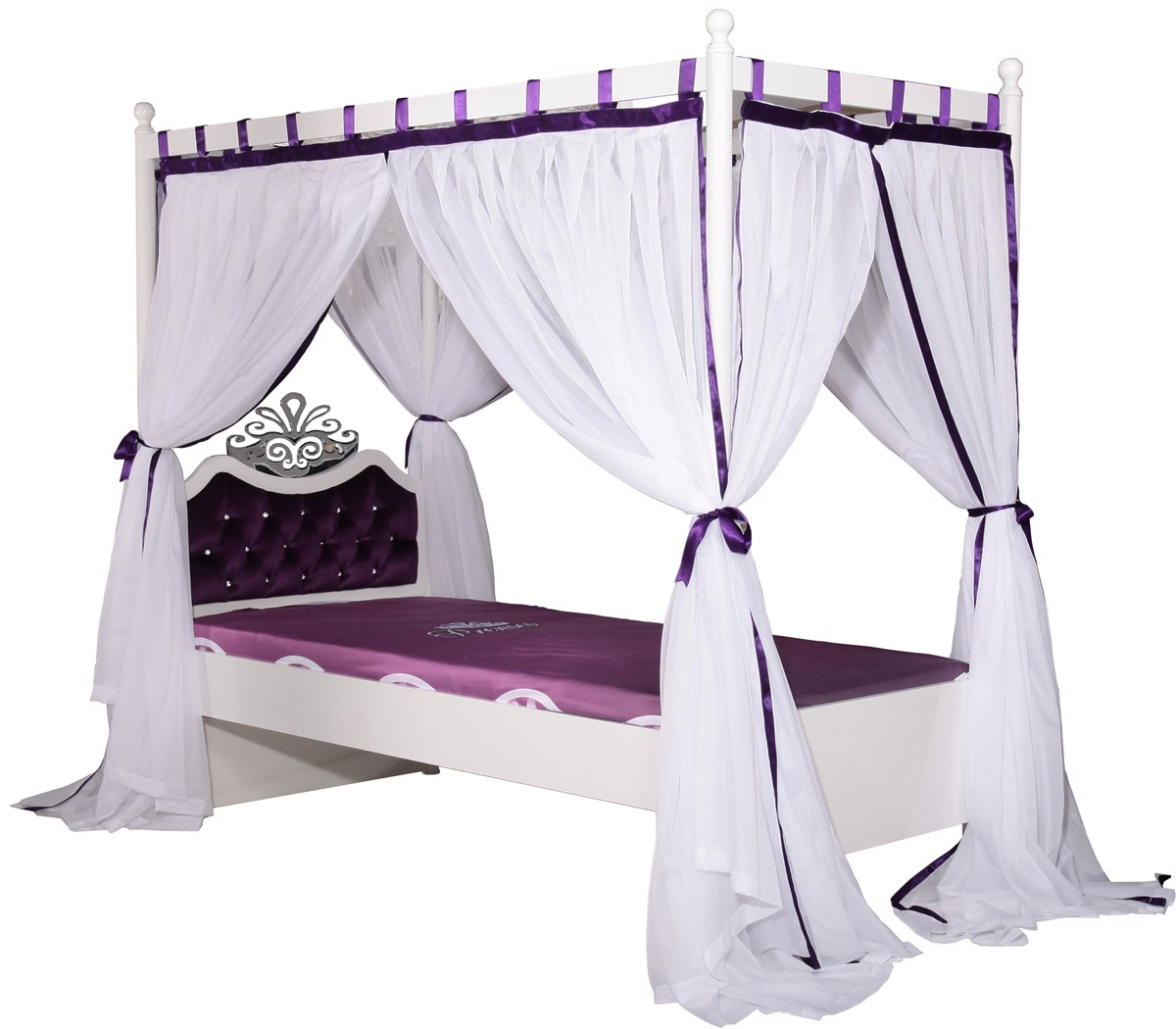 anastasia himmelbett kinderbett himmel m dchen bett prinzessin ebay. Black Bedroom Furniture Sets. Home Design Ideas