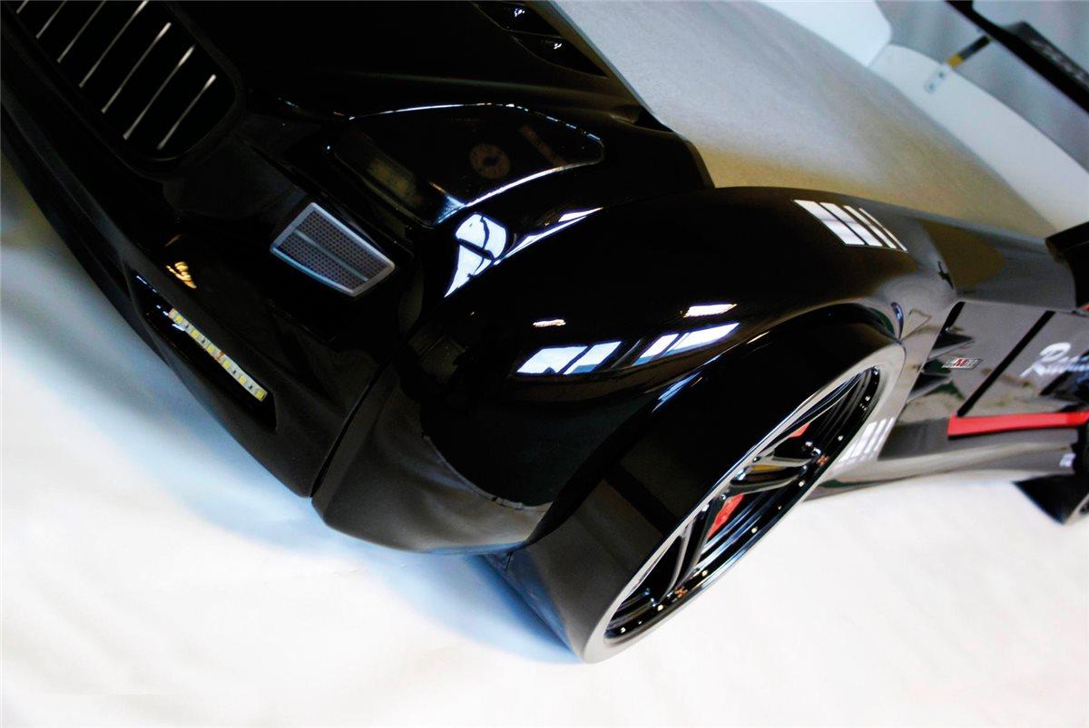 autobett roadster classic schwarz gl nzend mit rost mit licht ebay. Black Bedroom Furniture Sets. Home Design Ideas