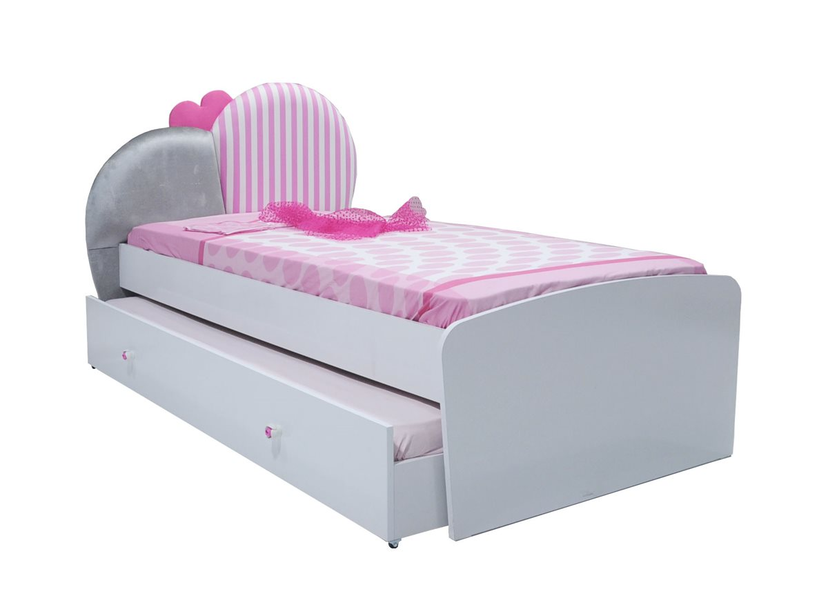 elissa kinder standardbett bett f r m dchen kinderzimmer ebay. Black Bedroom Furniture Sets. Home Design Ideas