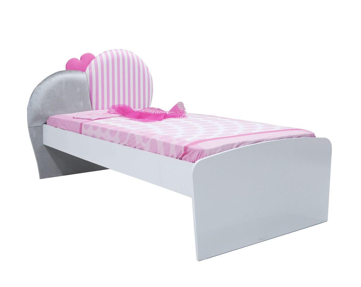 elissa kinder standardbett bett f r m dchen kinderzimmer ebay. Black Bedroom Furniture Sets. Home Design Ideas
