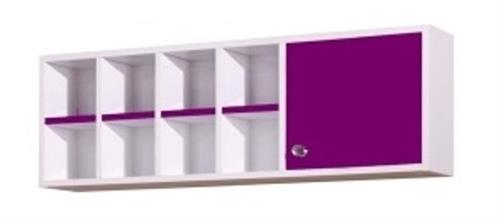 kinderzimmer anastasia brombeer wandregal f r schreibtisch ebay. Black Bedroom Furniture Sets. Home Design Ideas