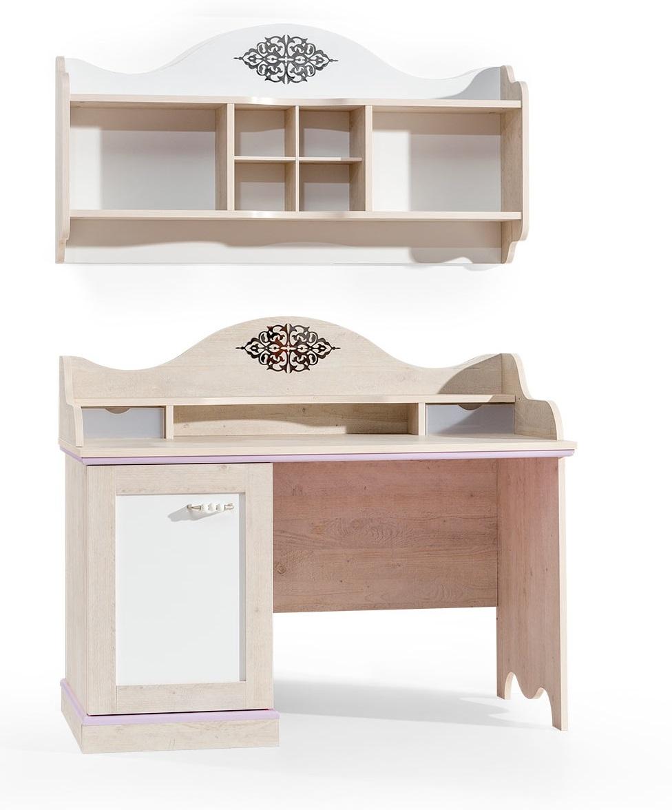 ballerina kinderzimmer m bel schreibtisch ohne wandregal ebay. Black Bedroom Furniture Sets. Home Design Ideas
