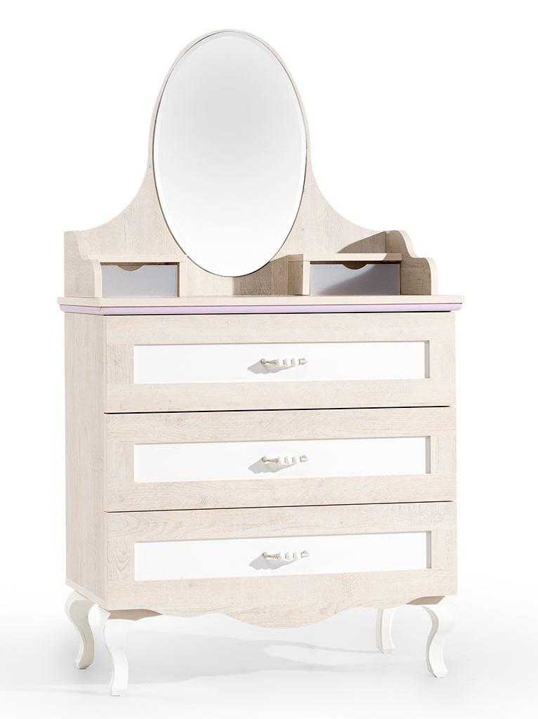 ballerina kinderzimmer möbel schminktisch kommode spiegel mädchen