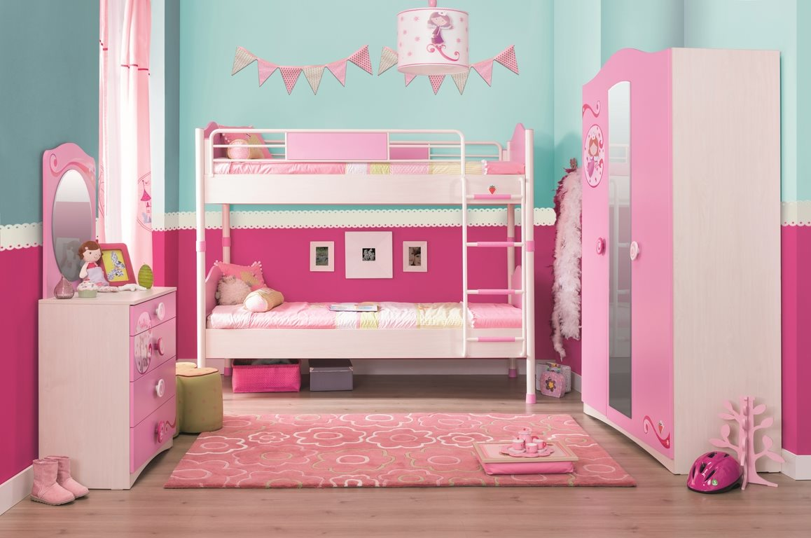 m dchen aufsatz f r schreibtisch pink m bel kinderzimmer ebay. Black Bedroom Furniture Sets. Home Design Ideas