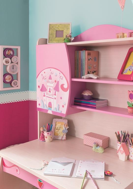 m dchen schreibtisch pink m bel kinderzimmer ebay. Black Bedroom Furniture Sets. Home Design Ideas
