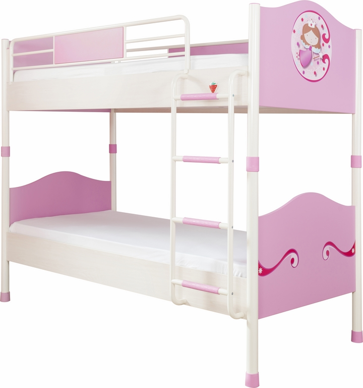 4er set princess etagenbett schrank kommode spiegel m dchen m bel ebay. Black Bedroom Furniture Sets. Home Design Ideas