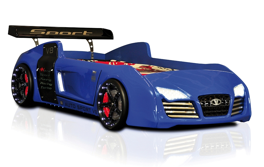 autobett turbo v8 m bel kinder bett auto autobetten ebay. Black Bedroom Furniture Sets. Home Design Ideas