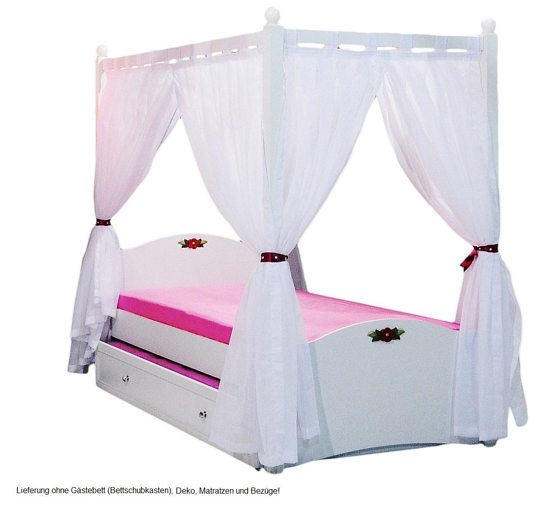 cindy himmelbett rosa kinderbett mit himmel. Black Bedroom Furniture Sets. Home Design Ideas