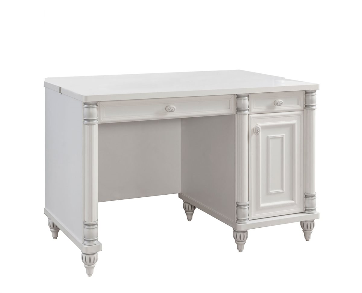 m dchen schreibtisch romantic kinderzimmer wei ebay. Black Bedroom Furniture Sets. Home Design Ideas