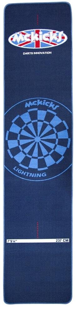 McKicks Carpet Dartmat Blue 300 x 65 cm Dart Teppich  eBay