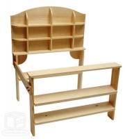 einkaufladen f r kinder kaufladen natur kaufmannsladen. Black Bedroom Furniture Sets. Home Design Ideas