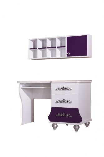 m dchenzimmer komplett brombeer lila oder rosa prinzessin m bel kinderbett ebay. Black Bedroom Furniture Sets. Home Design Ideas