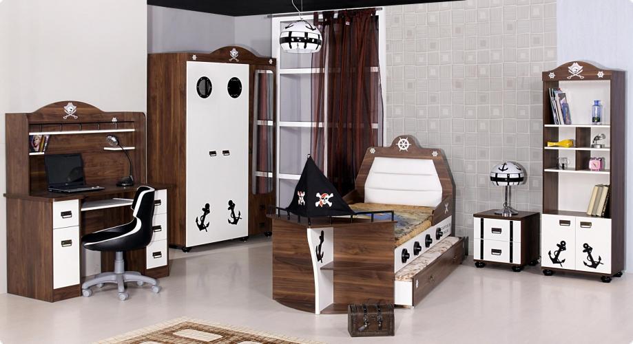 kinderbett piratenschiff. Black Bedroom Furniture Sets. Home Design Ideas