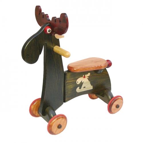 kinderfahrzeug aus holz elch farbig von janoschik. Black Bedroom Furniture Sets. Home Design Ideas