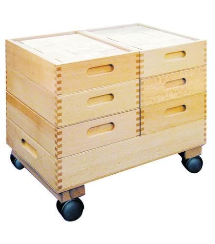 bauwagen mit quaderbausteinen 822 steine kindergarten set. Black Bedroom Furniture Sets. Home Design Ideas