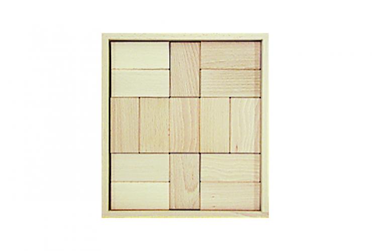 bauwagen mit fr belbausteinen 230 holzbausteine natur. Black Bedroom Furniture Sets. Home Design Ideas
