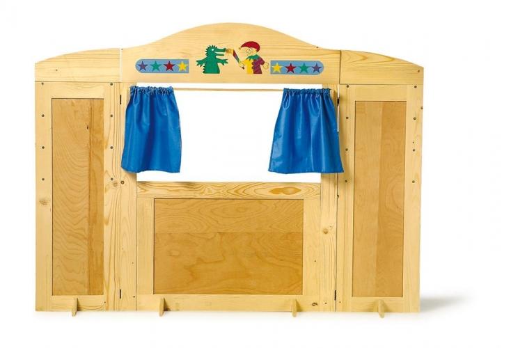 Kaufladen Kasperletheater Holz ~ Schneller Umbau vom Kaufladen zum Kasperletheater! Bewegliche
