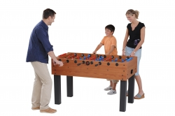 Tischfussball Kicker F-100 Safety Version mit Teleskopstangen