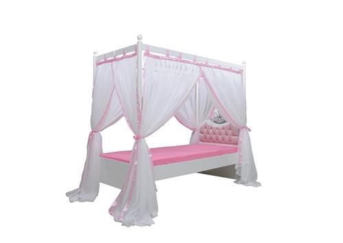 Himmelbett kinderbett prinzessin  Anastasia Himmelbett Kinderbett Himmel Mädchen Prinzessin Bett | eBay
